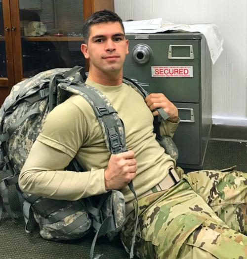 Military men Cute