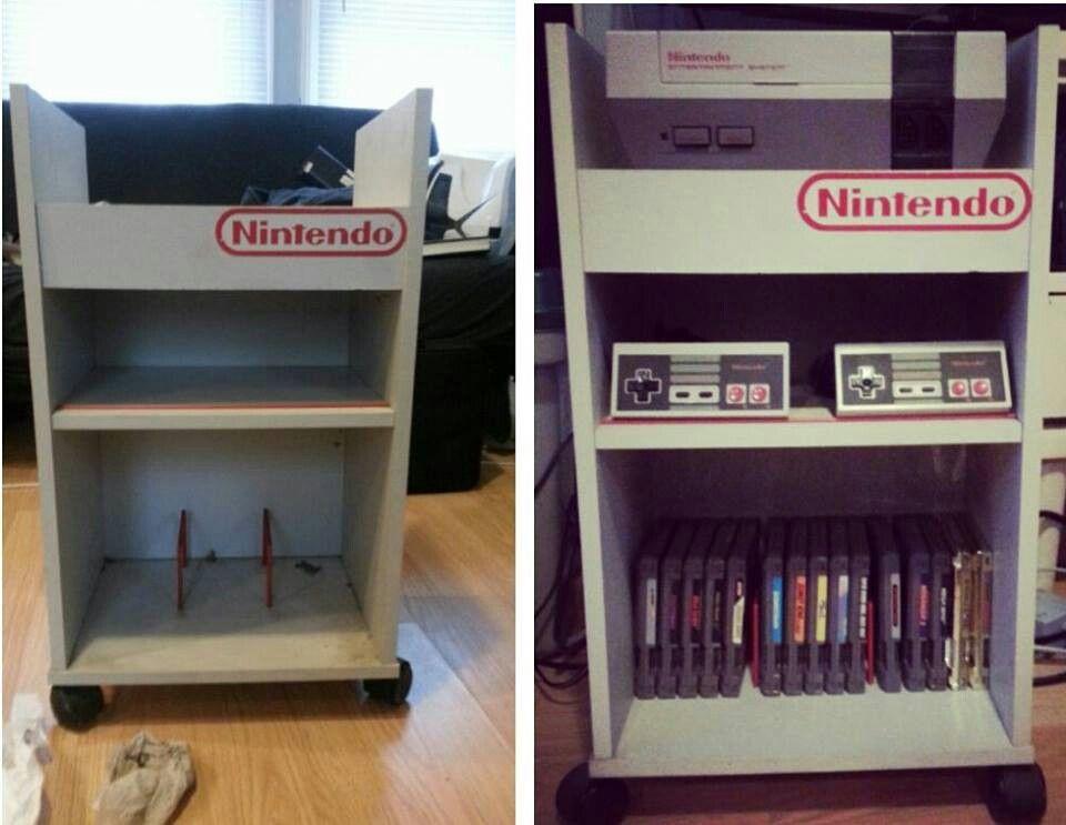 NES storage cart   Nintendo Entertainment System NES Video Game ...