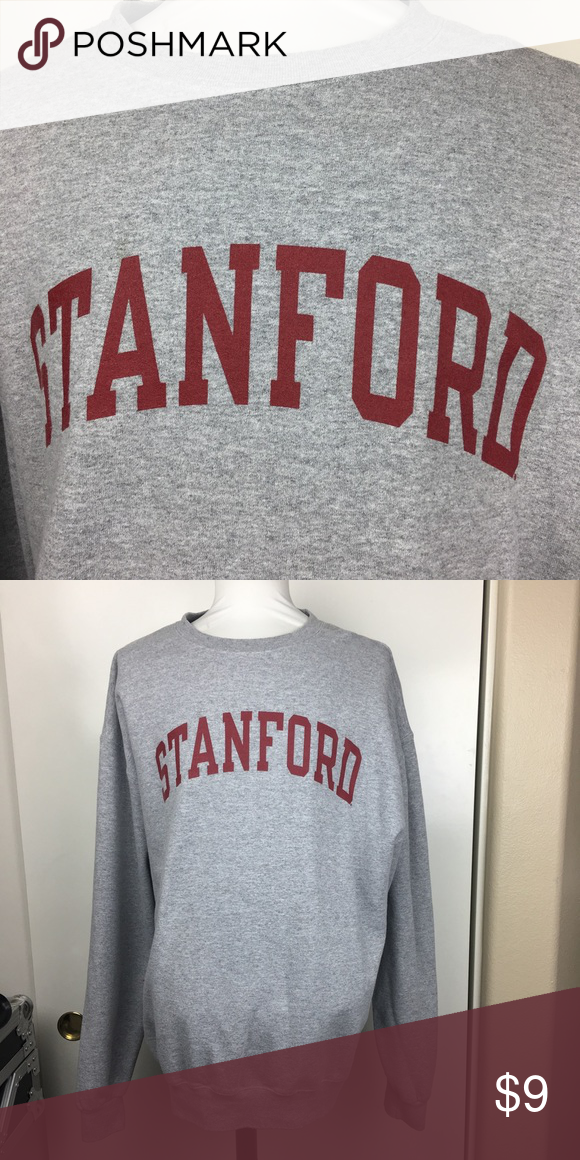 Stanford crewneck sweater Champion standfordncrewneck sweater size XL tags cut off but in great condition. Champion Sweaters Crewneck