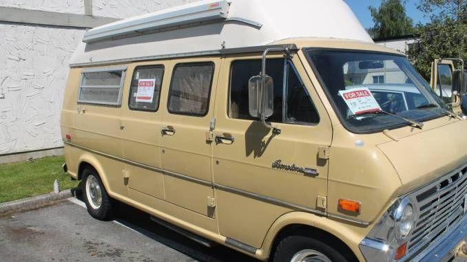 1970 Ford 200 Econoline Camper Van For Sale In Richmond Bc 5k