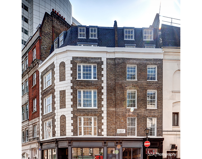 Redevelopment of a Grade II-Listed building, Upper St Martin's Lane, London