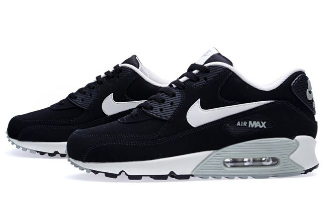 mens nike air max 90 essential ltr running shoes