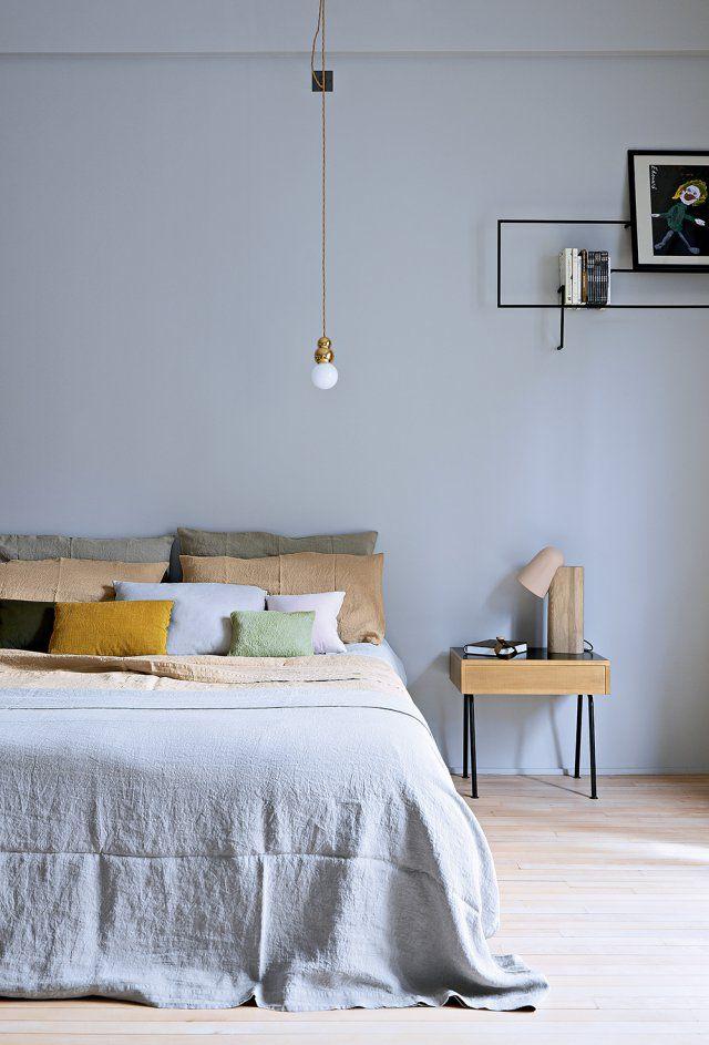 Une Chambre Zen Couleurs Pastel