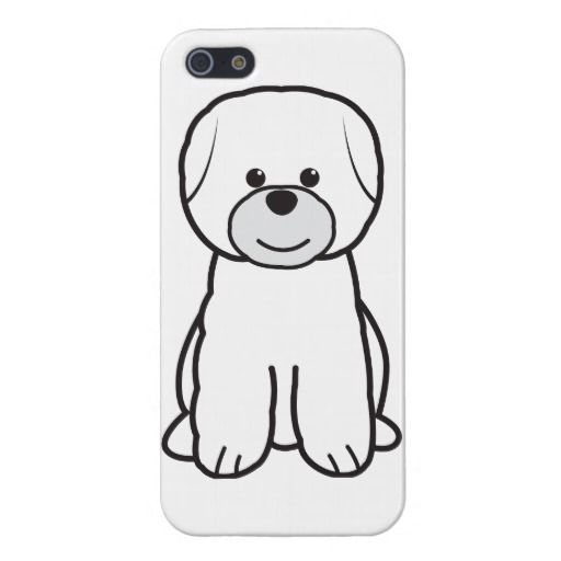 Bichon Frise Iphone 5 Case Bichon Frise Dogs Cartoon