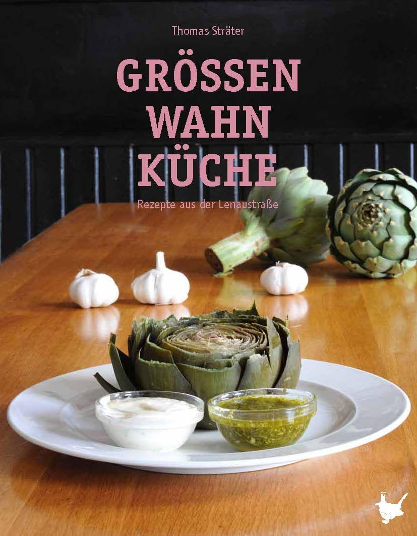 Das Café Größenwahn - seit Jahrzehnten eine Institution in Frankfurt/M. - mehrfach ausgezeichnet für seine Küche. Jetzt endlich gibt es die Küchengeheimnisse vom Größenwahn als Kochbuch. Ein MUSS für jeden Hobbykoch - und nicht nur für Liebhaber der Frankfurter Küche. Erhältlich überall im Buchhandel: DAS GRÖSSENWAHN KOCHBUCH.