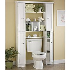 Would Be Nice To Use Cabinets Like This To Frame Out The Window Behind The  Toilet