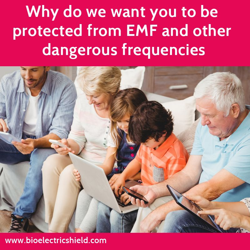 Complete Body Protection from EMF and other dangerous frequencies