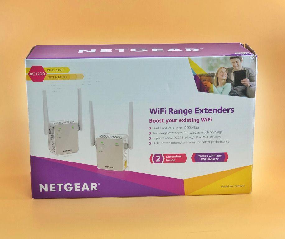 eBay #Sponsored NETGEAR AC1200 Wifi Range Extenders EX6920