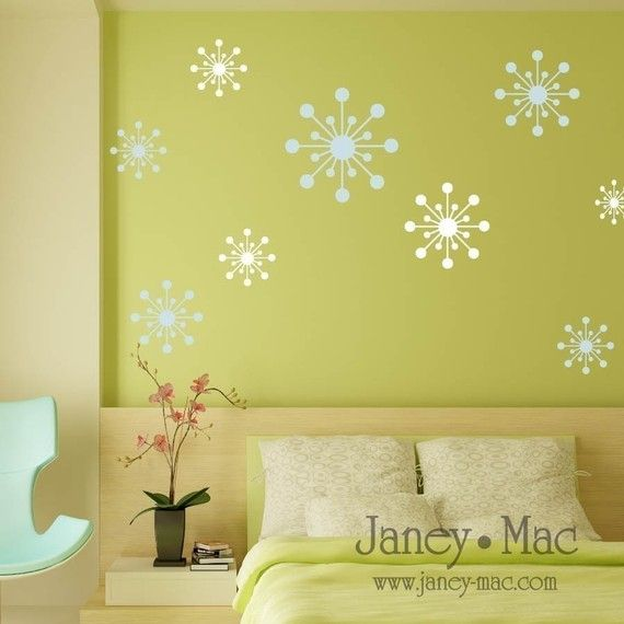Vinyl Wall Starbursts - O102 | Another Christmas Bridal Shower ...