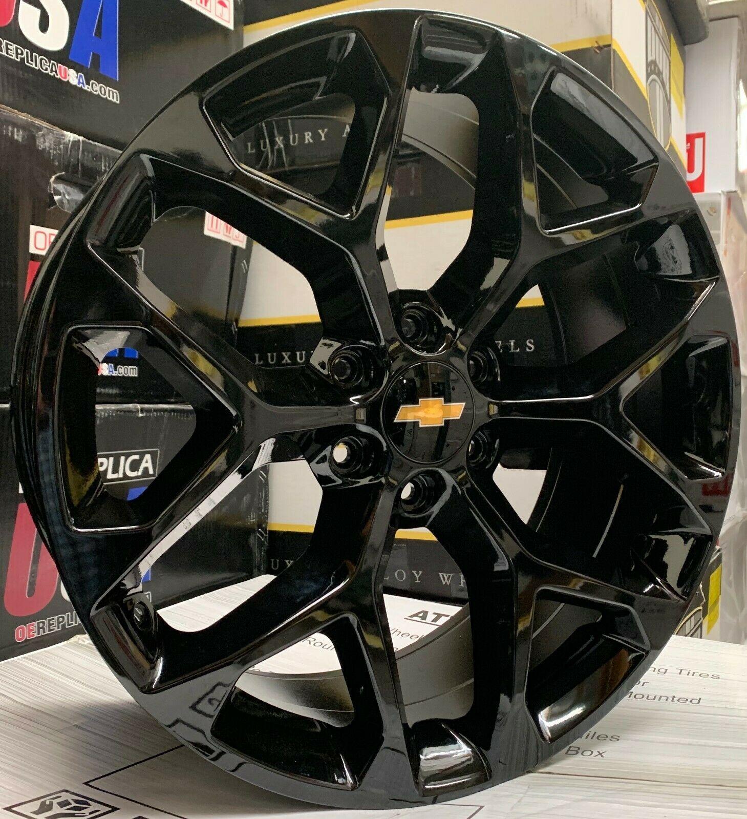 Chevy Silverado Rims And Tires In 2020 Chevy Silverado Rims Chevy Tahoe Chevy Silverado Accessories