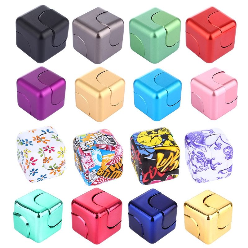 Luxury Infinity Cube 4x4x4cm Fid Cube Spinner High Quality Anti