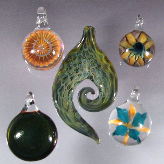 Blown glass pendants wholesale jewelry supplies lampwork focal blown glass pendants wholesale glass jewelry by glass peace 3095 mozeypictures Image collections