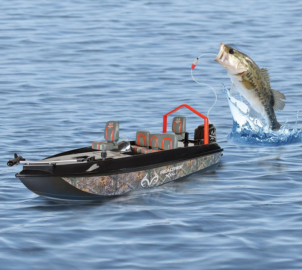 The Fish Catching RC Boat. #FatherDay