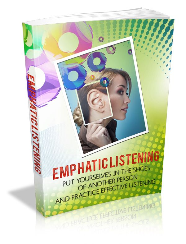 "Life Optimization Resource of the Week; ""Empathy and trust are essential for optimizing your life."" We need to be more effective communicators to be successful in all aspects of life. The keys to building rapport and relationships are empathy, trust, understanding and sympathetic communications. To learn more check out this brand new e-book: Empathic Listening! http://optimizedliferesources.com/product/empathic-listening/ $2.97"