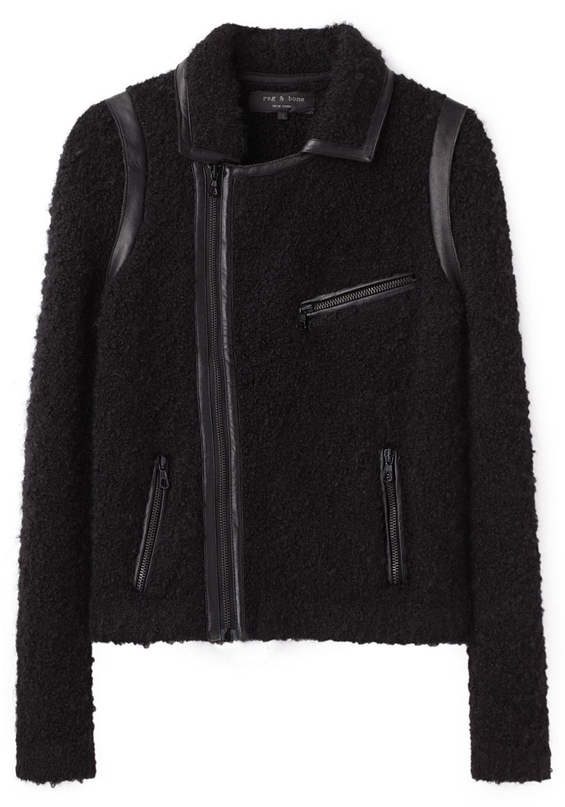 b5d29ed61de24 this could be the one... Rag & Bone / Bouclé Moto Jacket | coveting ...