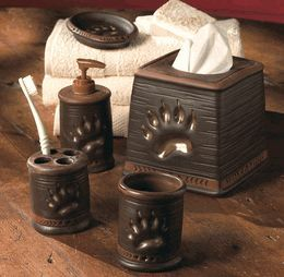 Bear Paw Bath Accessories