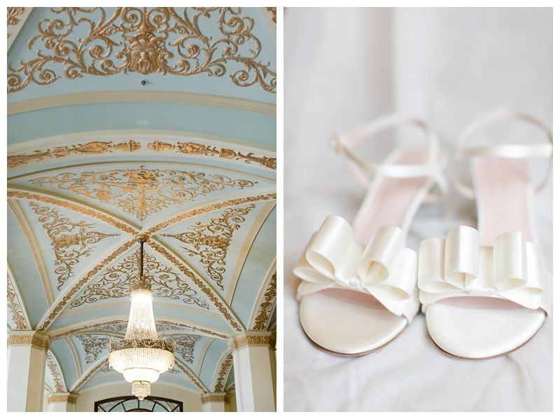 The Historic Onesto Canton Ohio Wedding Old Stone Chapel Kate Spade Shoes Cannons Photography