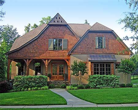 Plan W29507NT: Photo Gallery, Shingle Style, Cottage, Corner Lot House Plans  U0026 Part 57