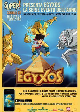 Scopri il mondo Egyxos sabato 14 febbraio al #cclaromanina