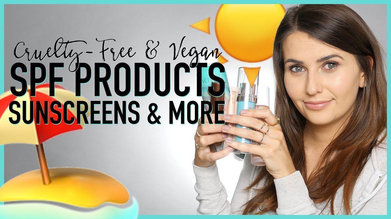 CrueltyFree SPF Products Sunscreens & More! (Cruelty
