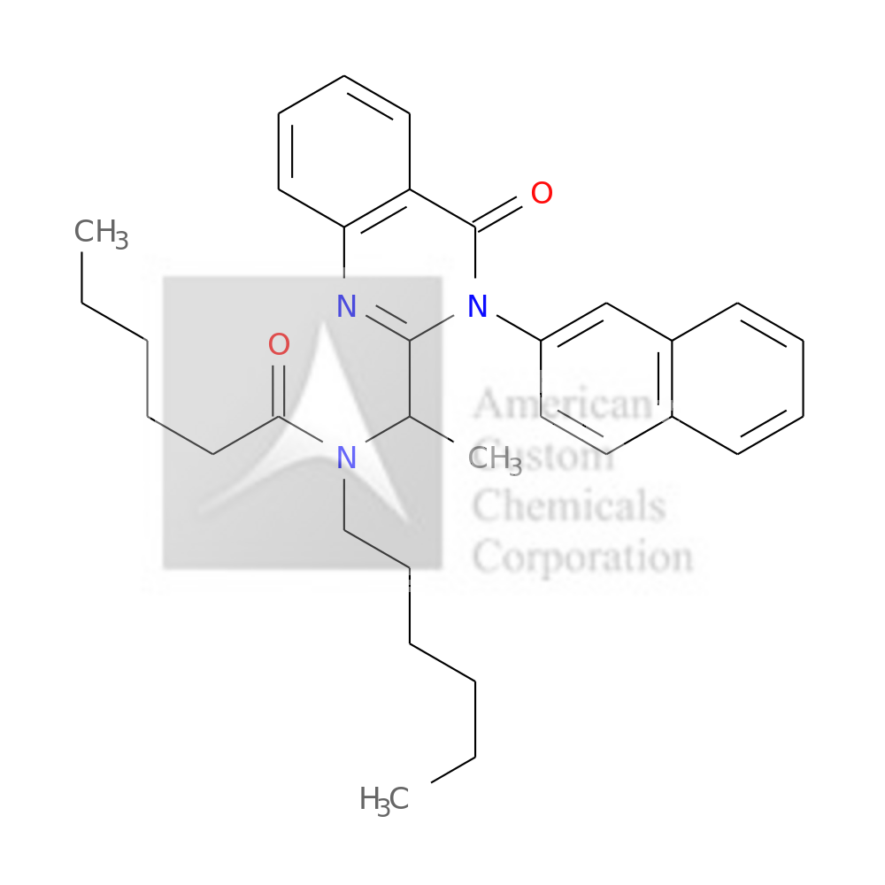 N-HEXYL-N-[1-(3-NAPHTHALEN-2-YL-4-OXOQUINAZOLIN-2-YL)ETHYL]HEXANAMIDE is now  available at ACC Corporation