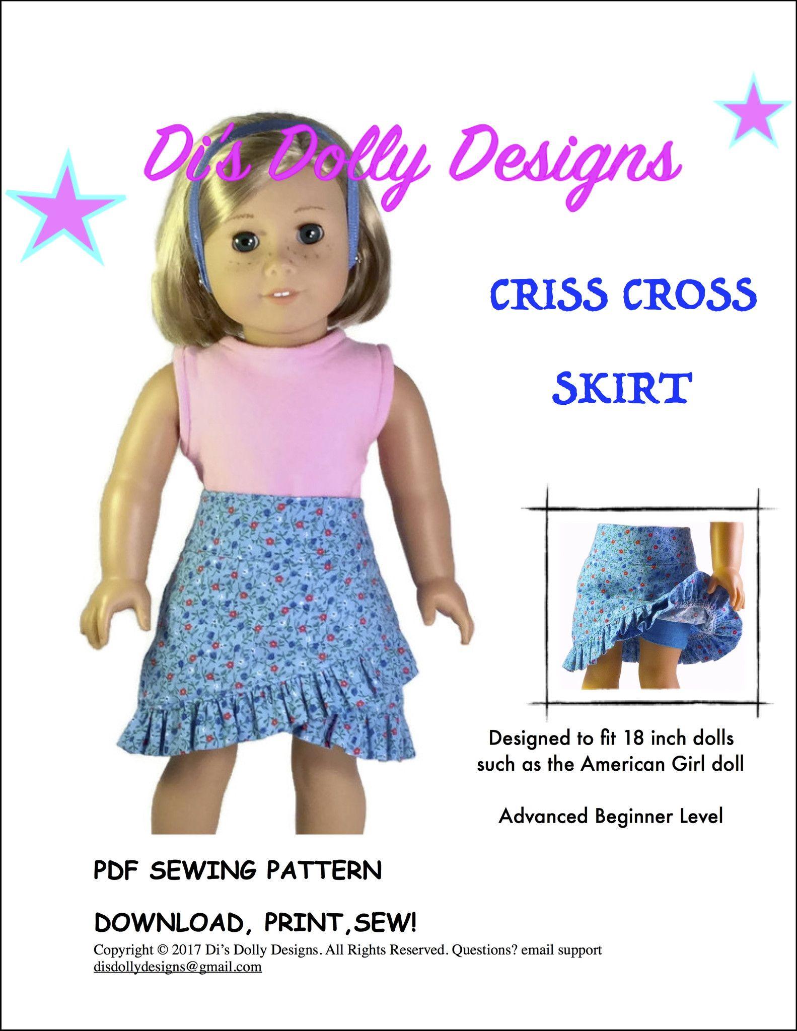 Criss Cross Skirt 18\