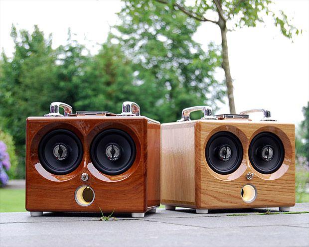 Audio Speakers Page 4 Men S Gear Gadgets Gift Ideas Werd Com Amplifier Portable Diy Speakers