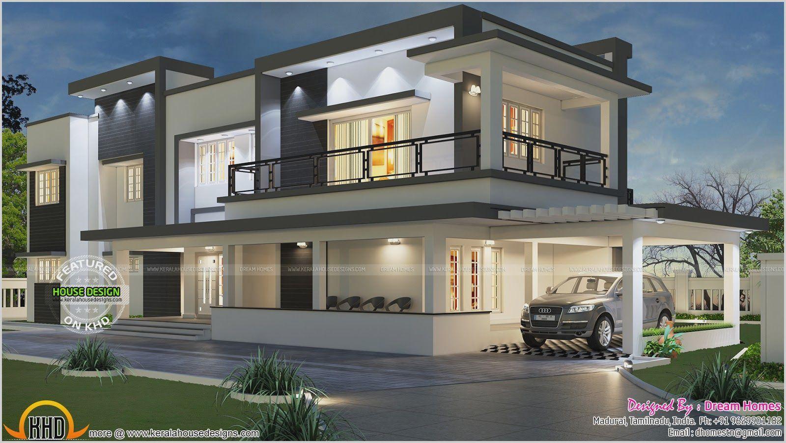 5 Bedroom Ultra Modern House Plans Denah Rumah Desain Rumah Rumah Modern
