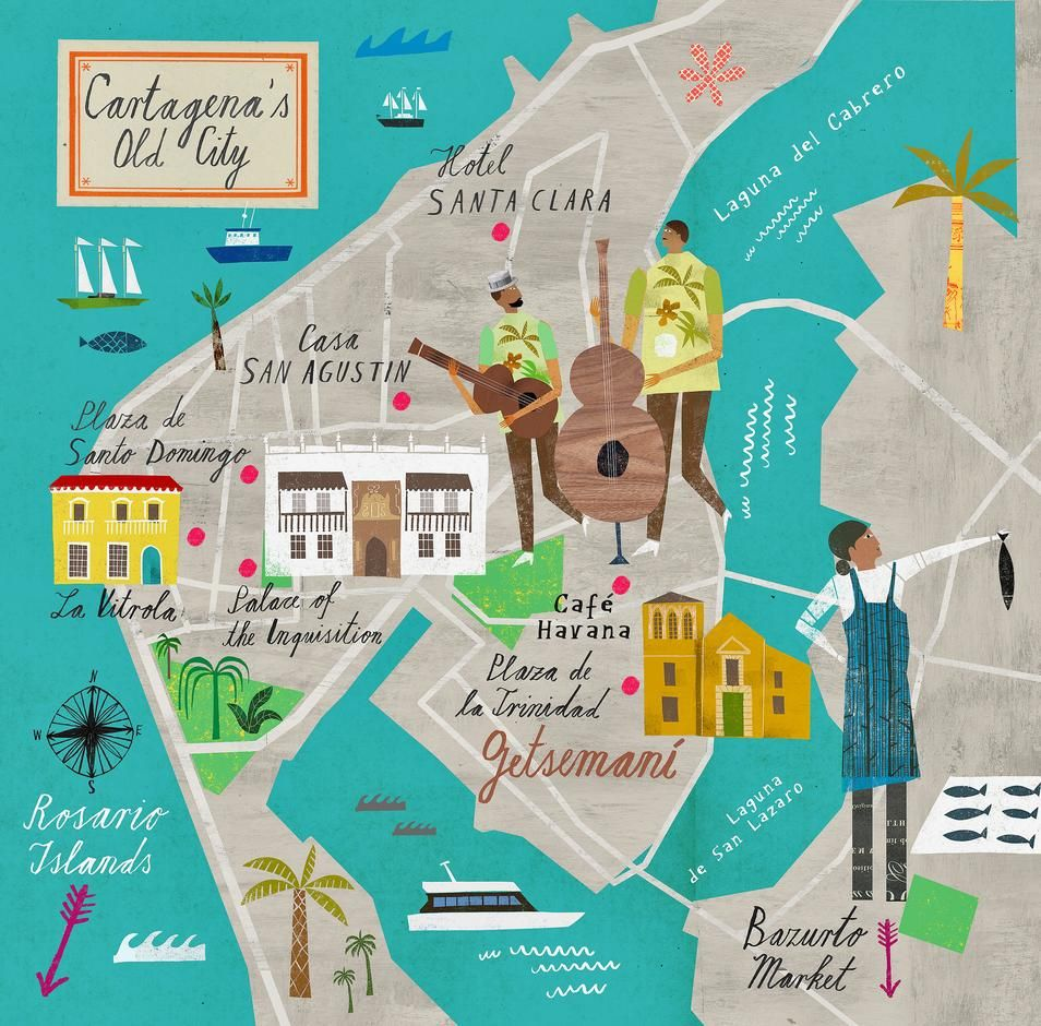 Dreaming of Cartagena: A Guide to the New Hot Caribbean Destination - WSJ