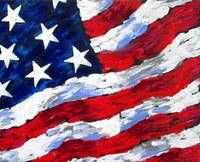 Abstract American Flag Artwork For Sale On Fine Art Prints American Flag Art American Flag Painting American Flag Fine Art