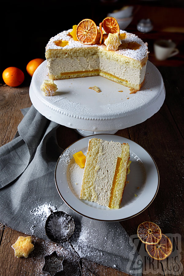 Photo of Spekulatius – Cream Cheese Cake with Orange Tongue Circus