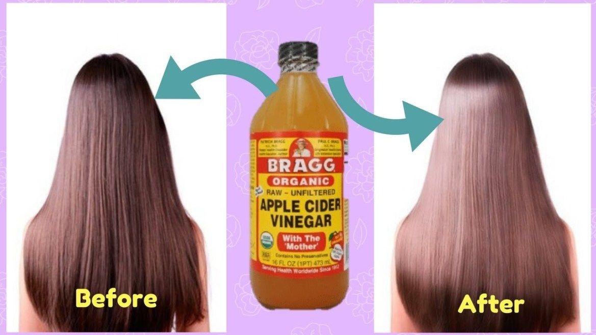 7 Ways To Straighten Hair Naturally At Home Apple Cider Vinegar For Hair Vinegar For Hair Apple Cider Hair