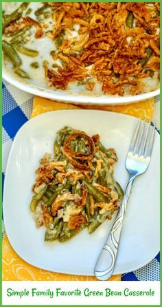 Simple Family Favorite Green Bean Casserole - Pams Daily Dish ( Check out the pa...