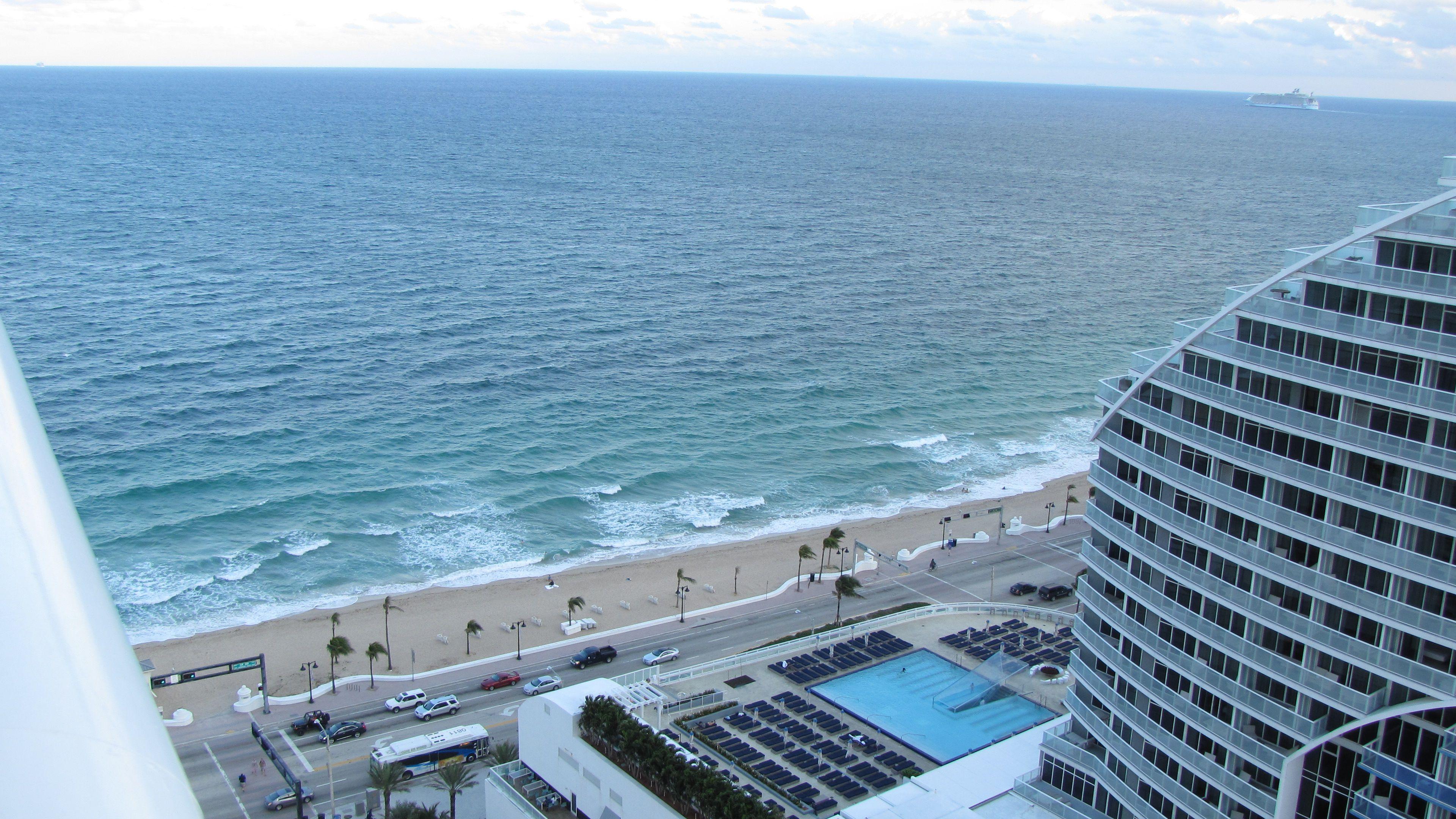 Fort Lauderdale Beach The Atlantic Ocean The W Hotel One