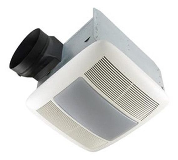Ultra Silent Quietest Bathroom Fan With Fluorescent Light Energy
