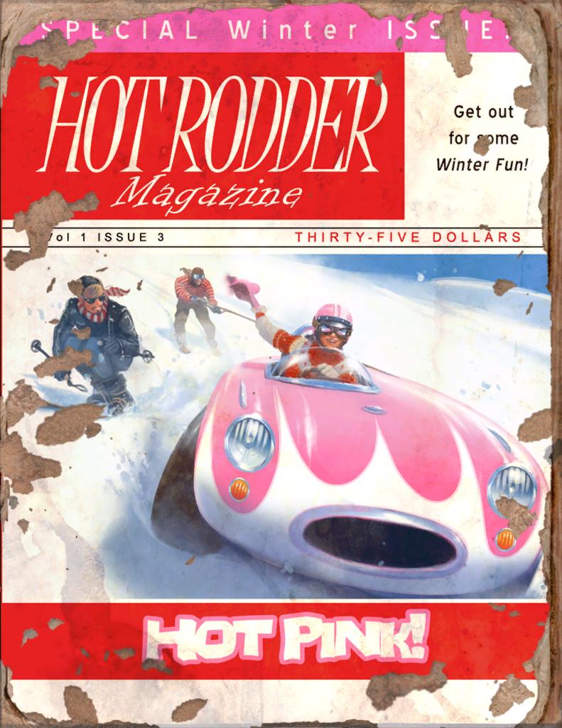Hot Rodder #2 Book - Fallout 4 by PlanK-69 on DeviantArt