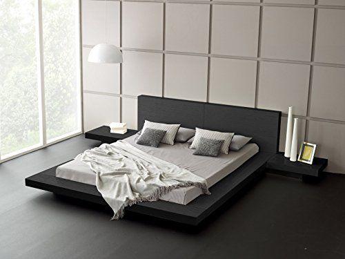 Furniture Matisse Fujian Modern, Fujian Platform Bed Queen