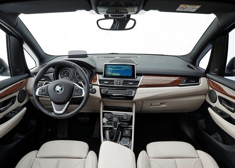 2016 BMW 2-Series Gran Tourer Interior