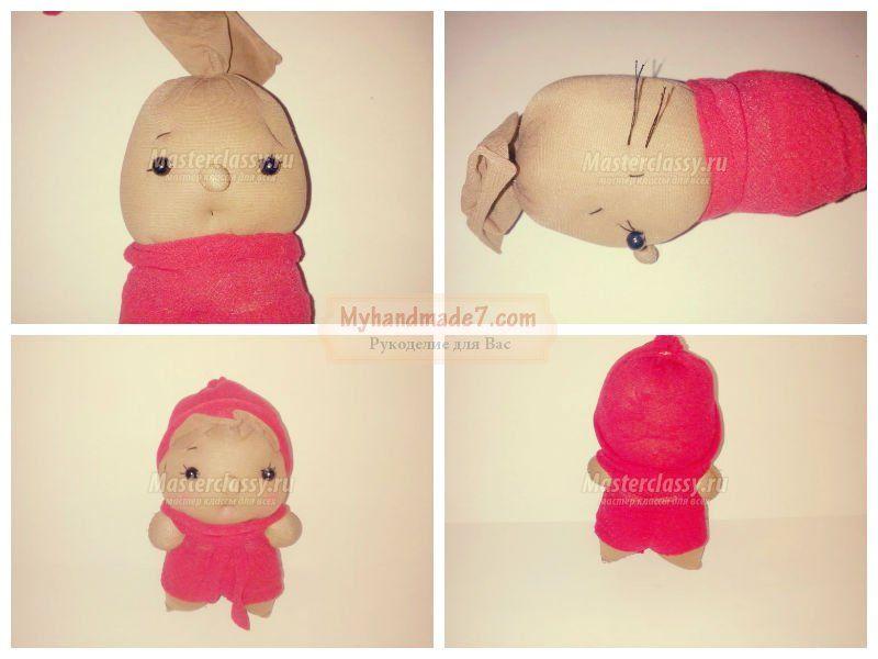 Как сделать куклу из колготок своими руками фото 650