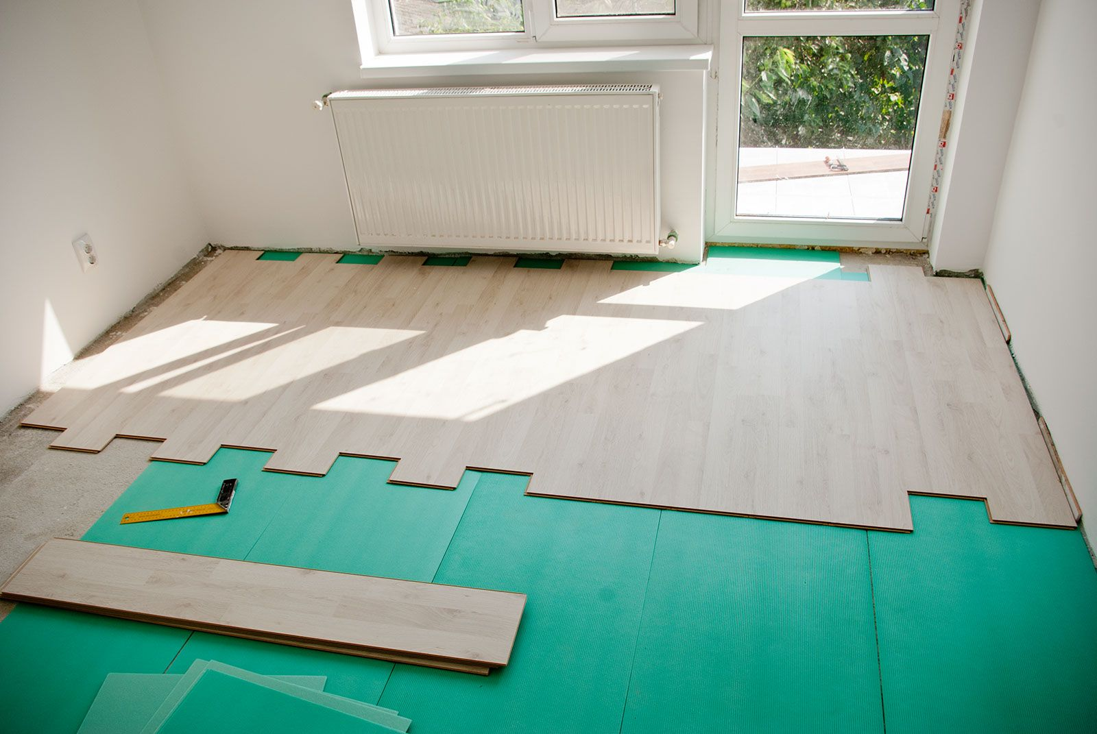 How to install laminate flooring Laminate flooring