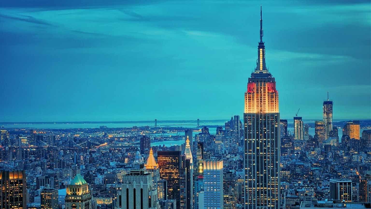 مترجم همزمان تجاری In 2020 New York City Background Empire State Empire State Building