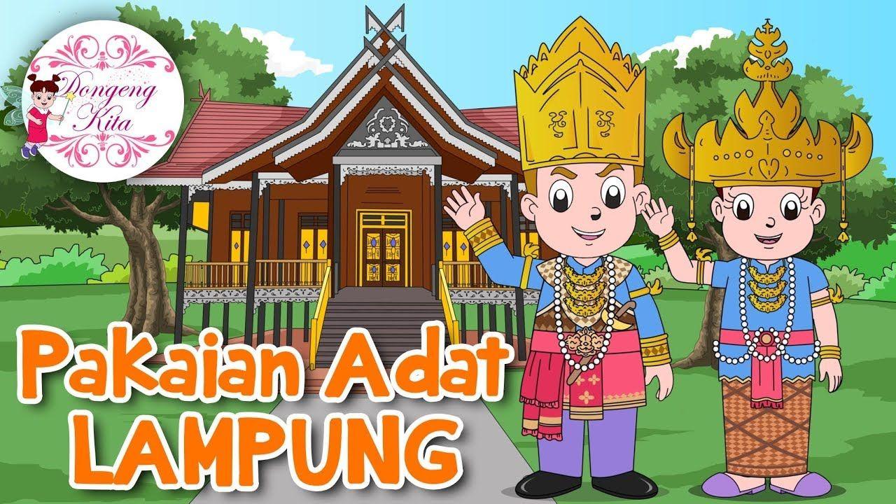 Pakaian Adat Lampung Kartun Png