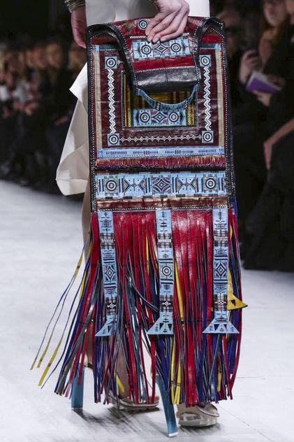 Julien Fournié Couture Spring Summer 2015 Paris -   vintage ethnic style bag