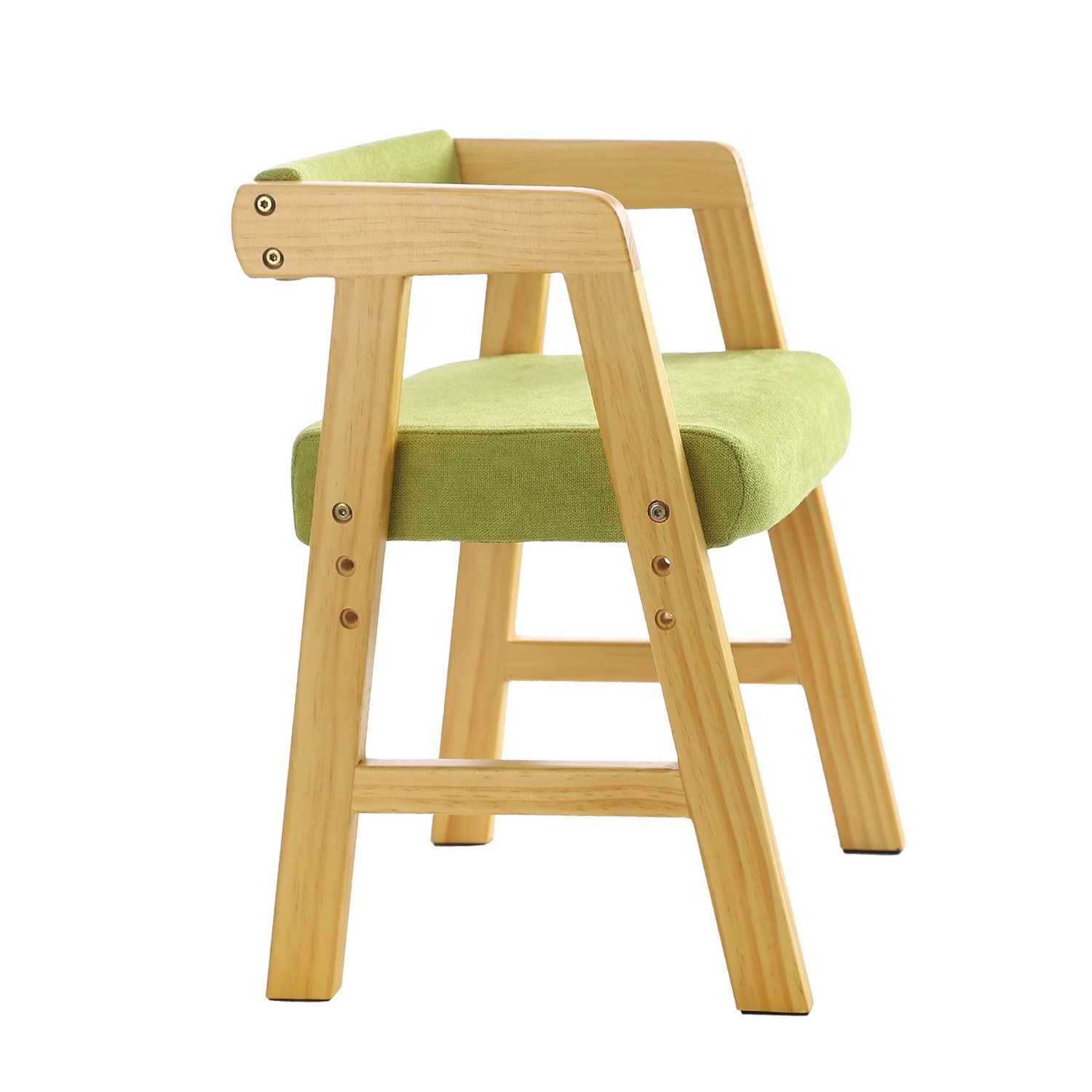 Youhi Heightadjustable Childrens Chair Kids Solid Wooden Study