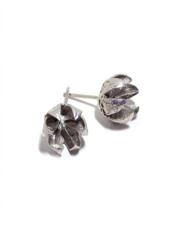 Sterling Silver Crepe Myrtle Pod Earrings By Jewelmint 65
