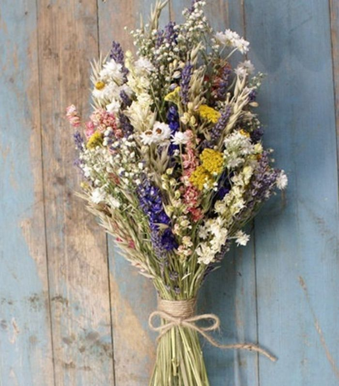 Etsy Festival Meadow Dried Flower Bouquet