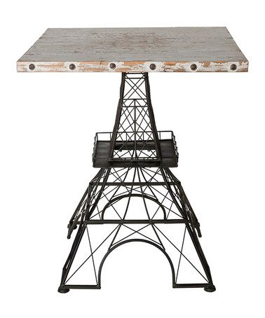 Look What I Found On Zulily Eiffel Tower Side Table Zulilyfinds