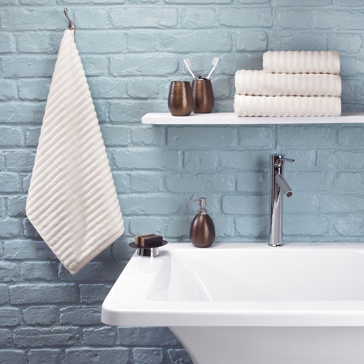 Urbanite Rib Towel in Cream