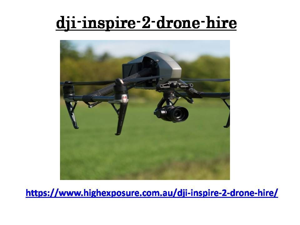 High exposure provides professional uav photography and