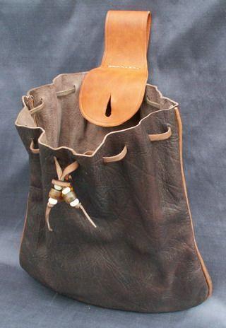 16th Century Mans Belt Bag More